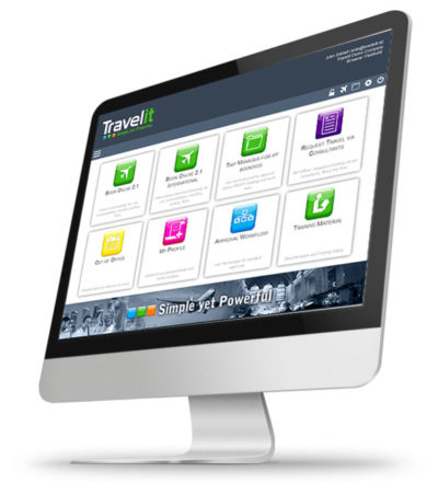 TravelIT Screen